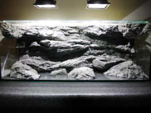 Installation of Alimar aquarium background