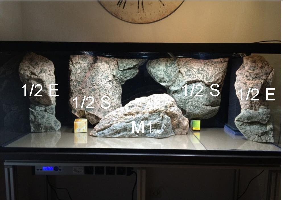 Kamene v akváriu