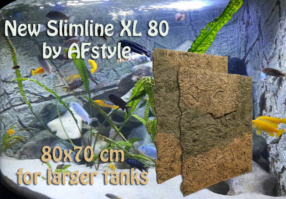 Slimline 80 XL Aquariumrückwände