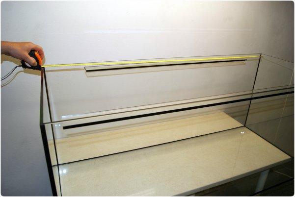 The inner tank length measuring