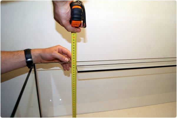 The inner tank height measuring