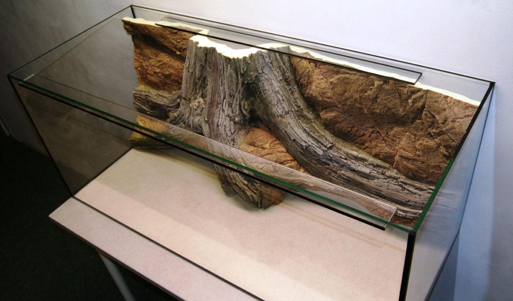 Aquarium background AMAZONAS - installation