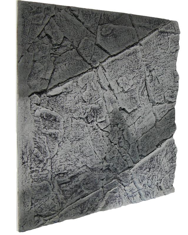 Slimline Rückwand 50 A Grau 50 x 48 cm
