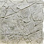 Slimline White Limestone Aquarium backgrounds A50 - 50 x 50 cm