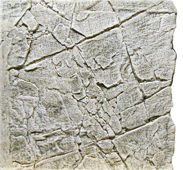 Slimline White Limestone Aquarium backgrounds A50 - 50 x 50 cm