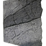 Slimline Grey Gneiss Aquarium backgrounds B50 - 50 x 50 cm