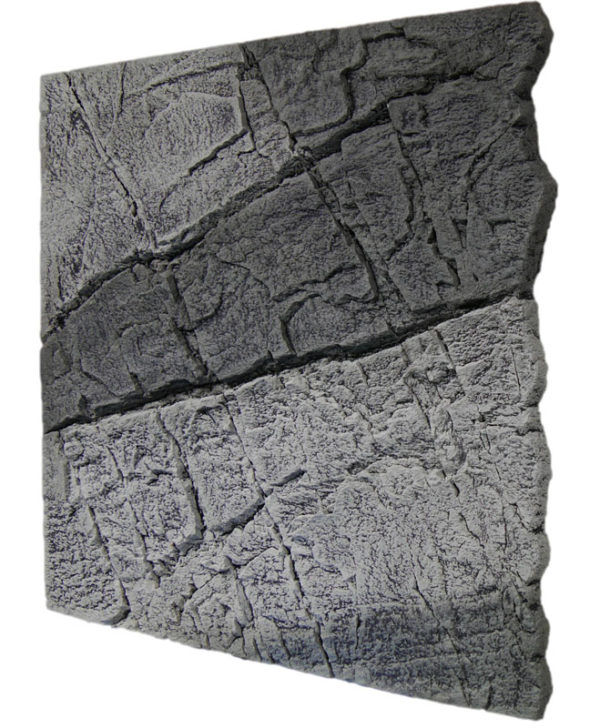 Slimline Grey Gneiss Aquarium backgrounds B50 - 50 x 50 cm