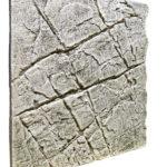 Slimline White Limestone Aquarium backgrounds B50 - 50 x 50 cm