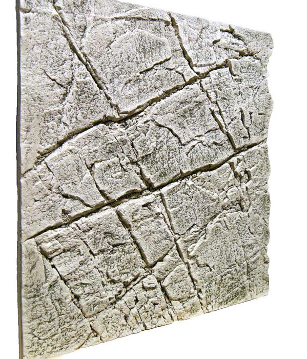 Slimline Aquarium Rückwand 60 B Sandstein White Limestone