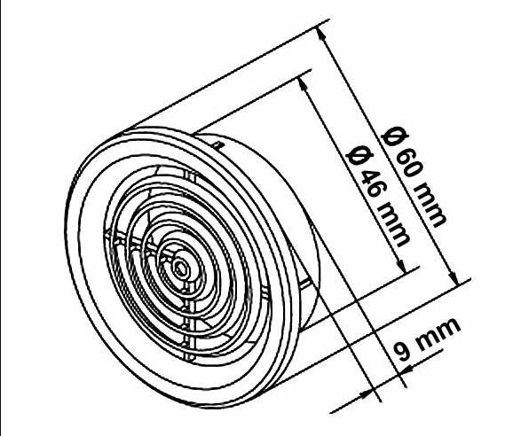 Mřížka - rozměry