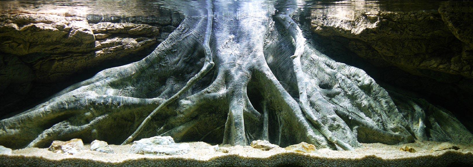 Aquarium 3D Rückwand Amazinas XL NEU von ARSTONE