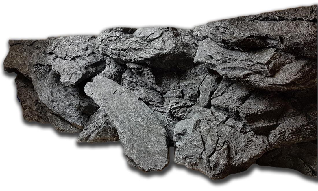 Nyasa Alpenkalk rocks background - left